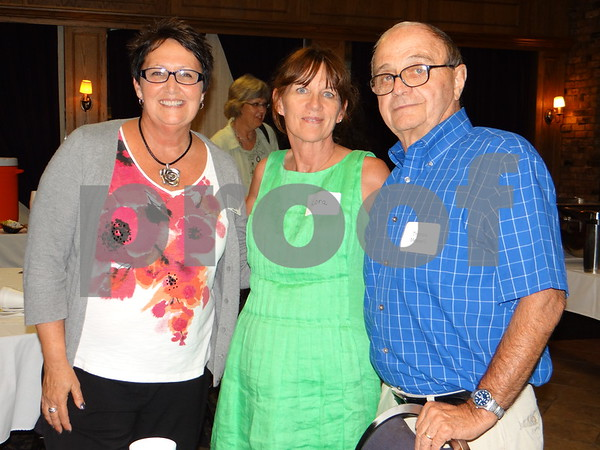 Dee Burbank, Lora Messerly, and Tom Messerly.