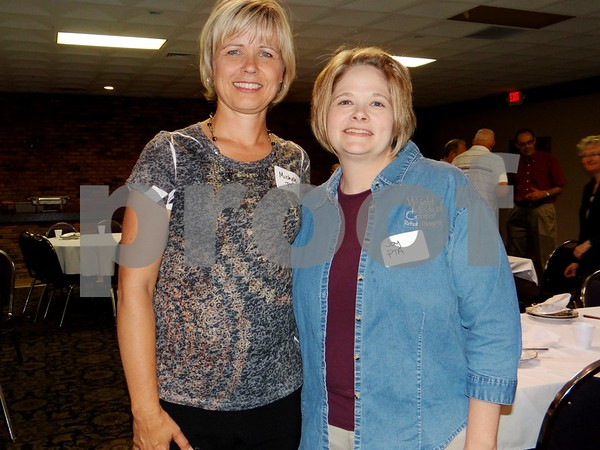Michele Bultene and Joy Salazar, both are Physical Therapists at the Iowa Specialty Hospital.
