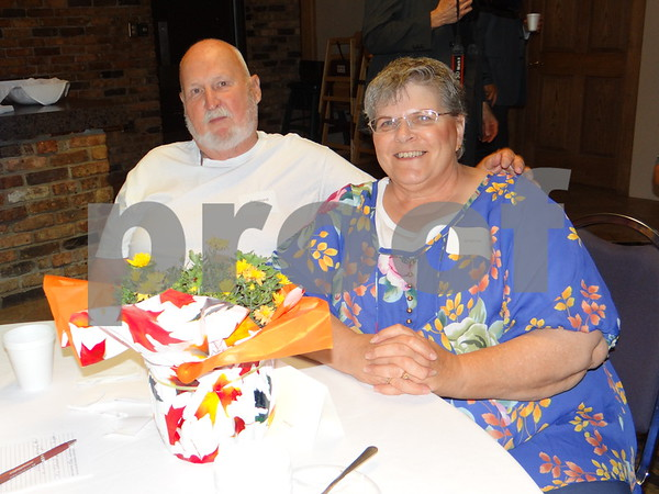 Ray and Sharon Winn have a great time at the party.