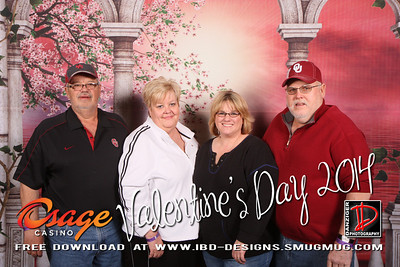 Osage Bartlesville Valentine's Party 2-14-14