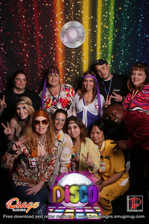 Osage Casinos DISCO dinner party 3-9-13