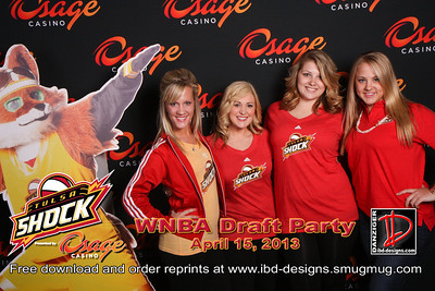 Osage Casinos WNBA Shock Draft Party 4-15-13