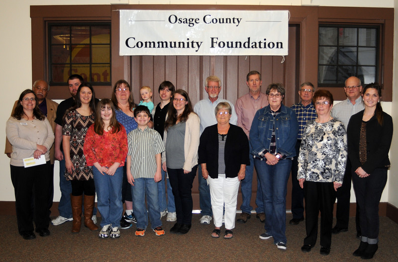 osage county community foundation awards feb 23 2017 santa fe