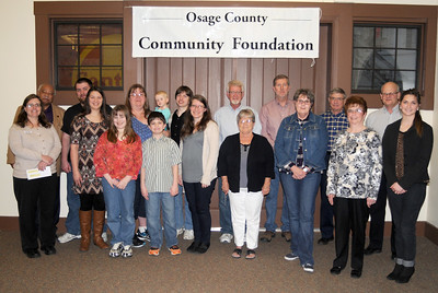 Osage County Community Foundation Awards, Feb. 23, 2017, Santa Fe Depot, Osage City, Kansas