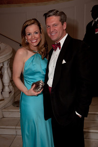 Emcee for the evening was ABC7 WJLA reporter, Pamela Brown, here with Jim Rayborn