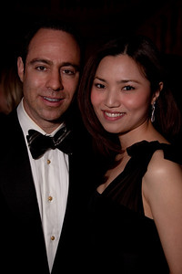 Justin Wasserman and Ros Watana