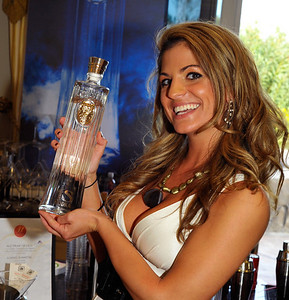Photograph of Bridgetta Tomarchio at Oscar Party with IS VODKA www.ISVodka.com