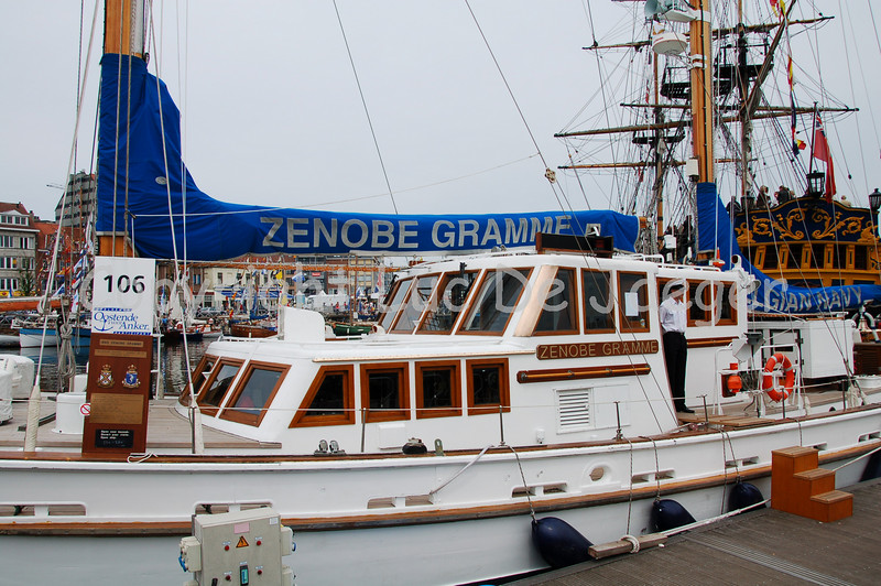 """The Zenobe Gramme of the Belgian Navy. This vessel is a """"Bermuda Ketch"""" used as a training ship. Shot with the Nikkor 18-200mm lens. No post processing."""