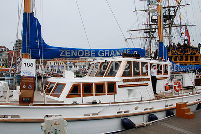 "The Zenobe Gramme of the Belgian Navy. This vessel is a ""Bermuda Ketch"" used as a training ship. Shot with the Nikkor 18-200mm lens. No post processing."