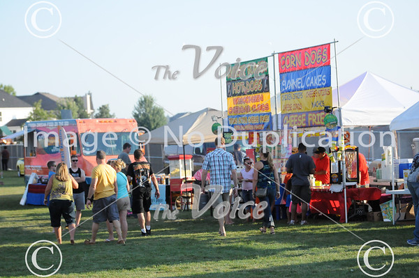 Oswego Beats and Eats at Prairie Point Park in Oswego, Ill 8-10-13