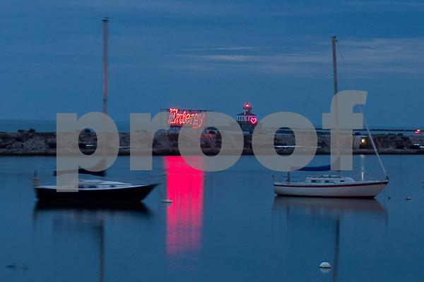 Oswego Harborfest 2014 Fireworks
