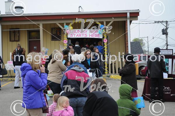 Oswego, IL Bunny Hop 3-31-12