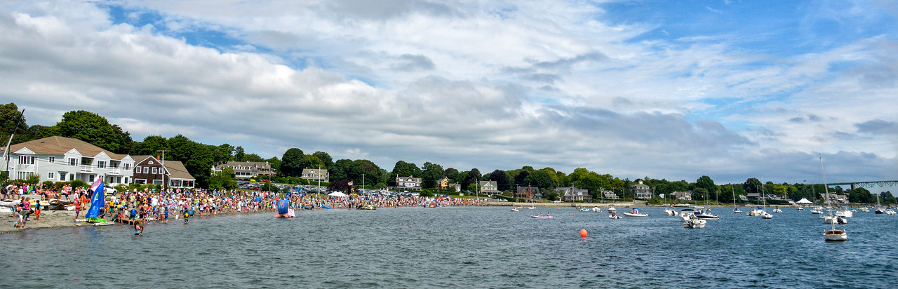 The race course Fools Rules Regatta 2015 Jamestown, Rhode Island
