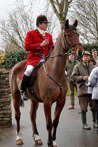 South Hereford Hunt at Treworgan Farm