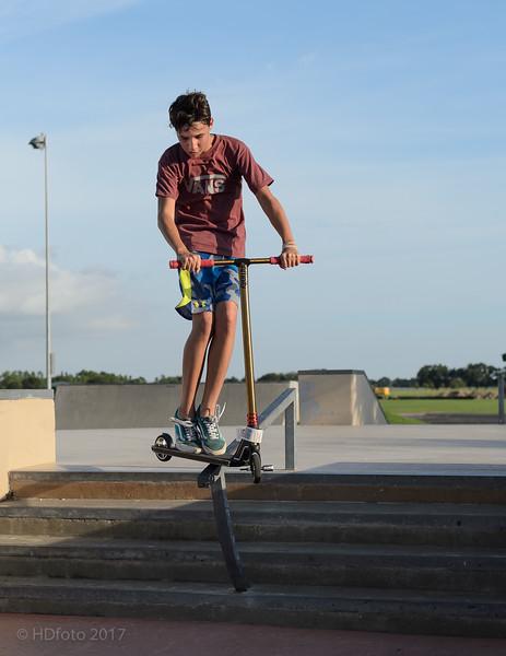 Riding the rail, living the dream!