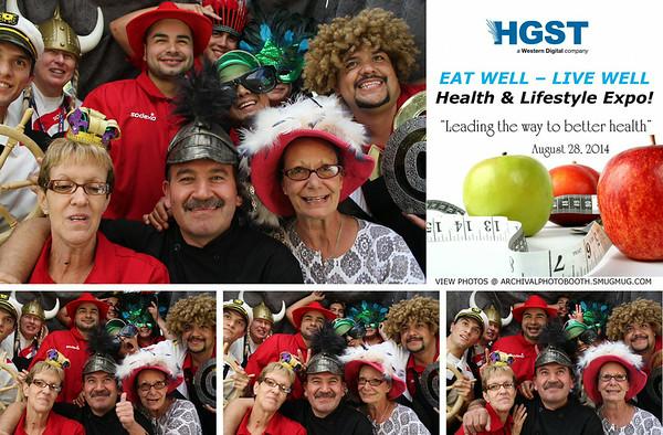 HGST Health Expos 8.28.14 Photo Strips