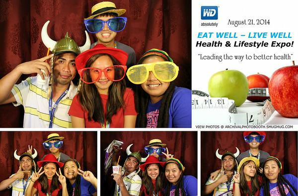 Western Digital Health & Lifestyle Expo 8.21.14 Photo Strips