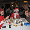 Santa Con members met for dim sum at the Empress Pavilion restaurant before starting their trek.