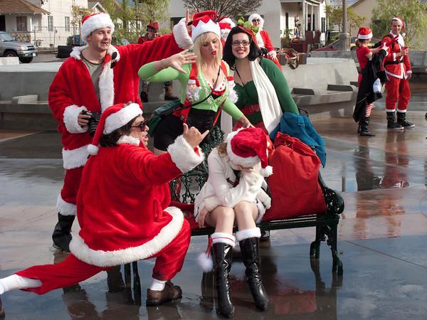 No pity for the sad Santa.