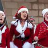 Our carolin' Santas.