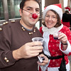 Rudolph and Santa seemed to enjoy the jello shots tremendously!