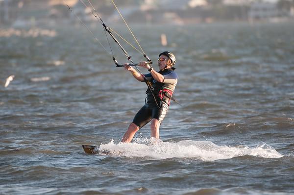 Kite Surfing at Bunch Beach
