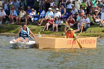 Cardboard Boat Regatta 2011
