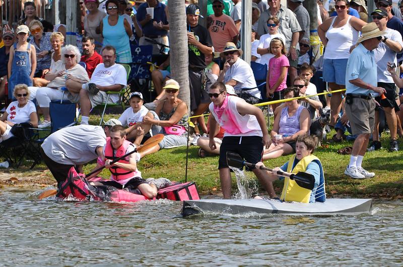 Rotary Club Cardboard Boat Regatta  2011