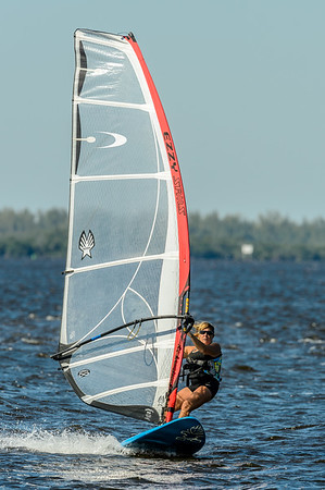Wind and Kite Boarding at Sanibel 11/03/2013