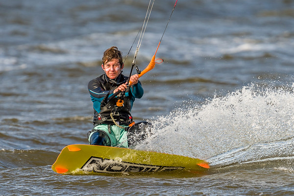 Kite- and Wind-Surfing Sanibel 01/23/2016