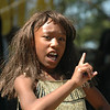 The lead young lady in the skit had enough attitude for the role 8-)