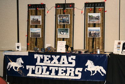 Texas Tolters' display