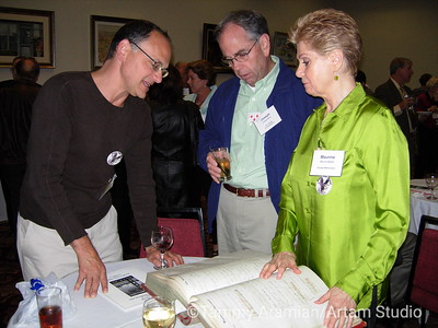Norm describes how he found the enormous Hibernia Bank logbook.