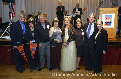 "High school ""Kings and Queens"" - Nick and Emily for Balboa, Jim for Galileo, Tammy for Washington, 3 private-school people whose names I forgot, and Terry for Lincoln."