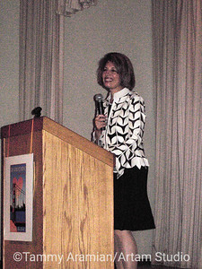 Jackie Speier, at that time between jobs (former California State Senator, current U.S. Representative)