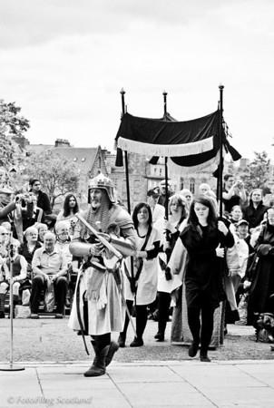Wallace Re-enactment  Aberdeen Tartan Day 2010