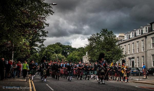 Aberdeen Tartan Day Parade 2012