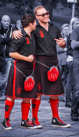 Two Red Hot Chilli Pipers