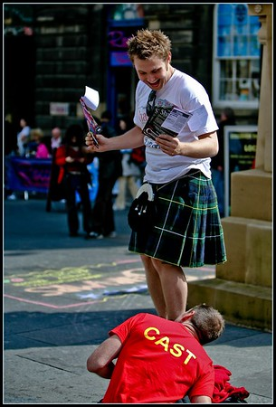 True Scotsman is checked out