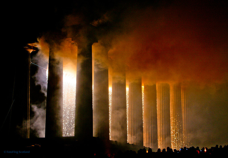 National Monument engulfed in smoke