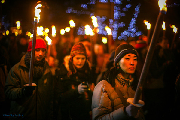 Torchlight Procession, Edinburgh December 29th 2008