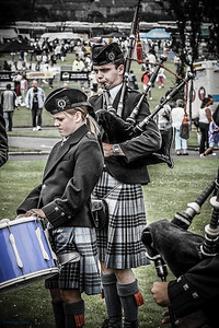 Piping Practice European Pipeband Championships 2006  Gourock
