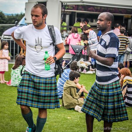Clan Gathering Spectators