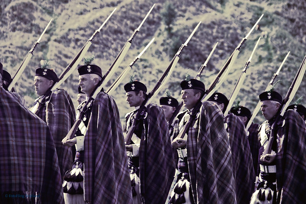 The Duke of Atholl's private army