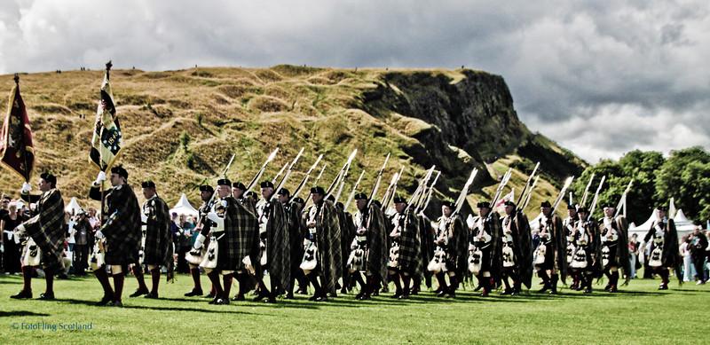 The Duke of Atholl's private army The Gathering 2009, Edinburgh