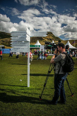 Signpost Filming