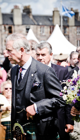 Prince Charles The Gathering 2009, Edinburgh
