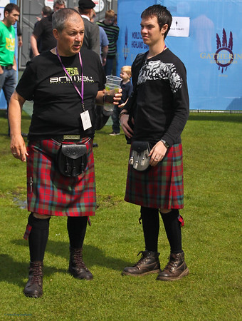 Matching Kilts<br /> The Gathering 2009, Edinburgh