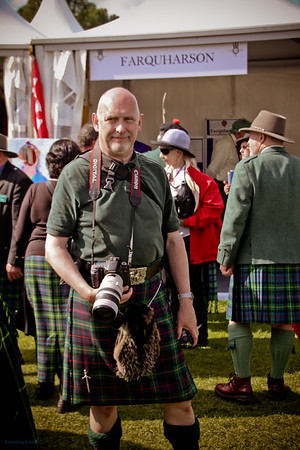 A Farquharson Shooter<br /> The Gathering 2009, Edinburgh