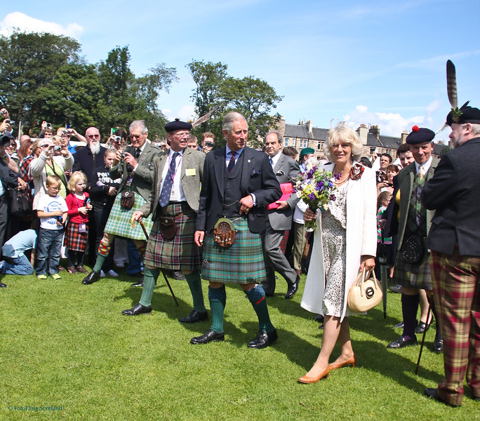 HRH Prince of Wales & Duchess of Cornwall